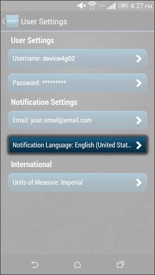 Oprime Notification Language