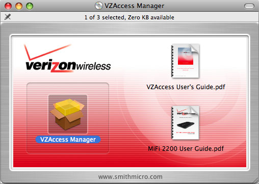 VZAccess Manager Installer package