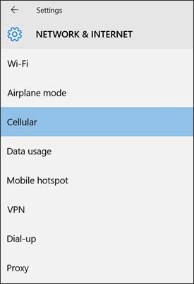 Network & Internet with Cellular