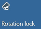 Rotation lock off