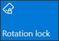 Rotation lock on