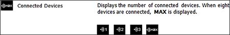 Display Icons view Connected Devices