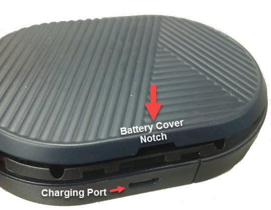 Volver a colocar la cubierta de la batería