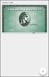 Default card