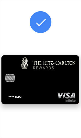 Google Pay payment confirmation screen