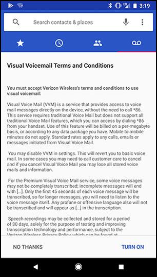 activate basic visual voicemail phone by google verizon wireless rh verizonwireless com verizon wireless voicemail guide Verizon Voicemail Access Numbers