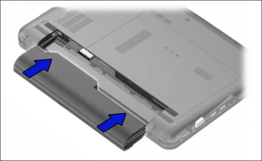 Instalación de la batería