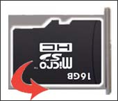 Remove SD / Memory Card