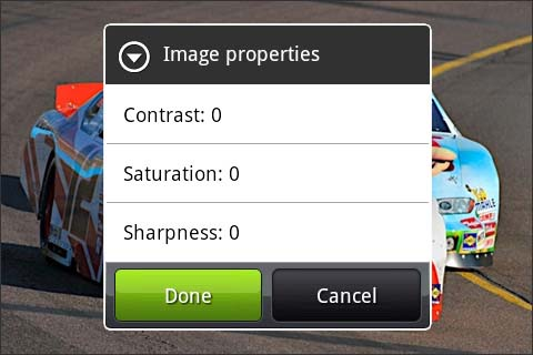 Image propeties Done