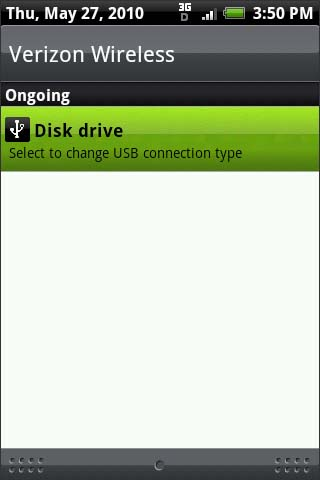 Turn off USB storage