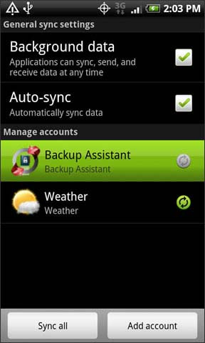 Backup Assistant