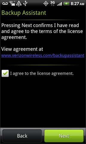 agree with license agreement then next