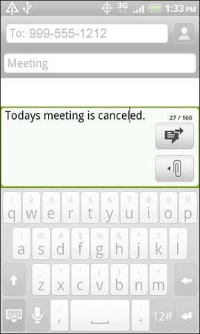 Ingresa el mensaje de texto