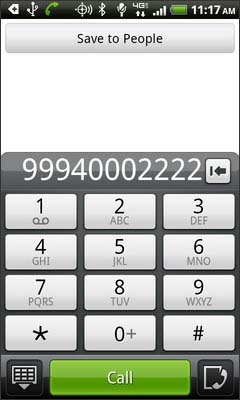 Dial the second number then select Call