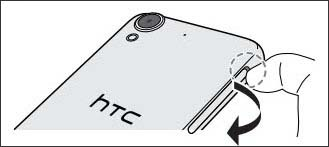 Remove card tray