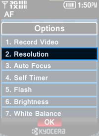 Select Resolution