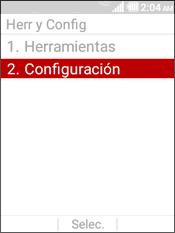 Select Configuracion