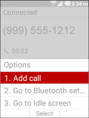 Select Add Call