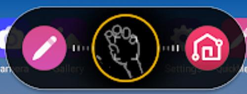 Hand guide overlay