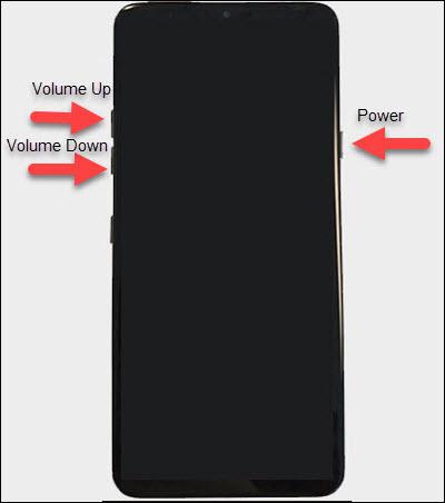 Botones de volumen