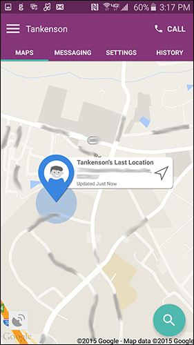 GizmoPal Location Search