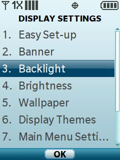 Select Backlight