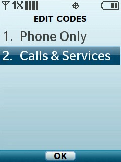 Select Calls and Services