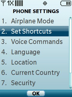 Select Set Shortcuts