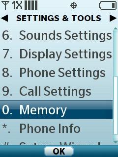 Selecciona Memory