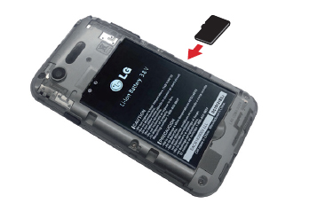 lg zone 2. insert memory card lg zone 2