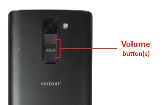 Volume buttons