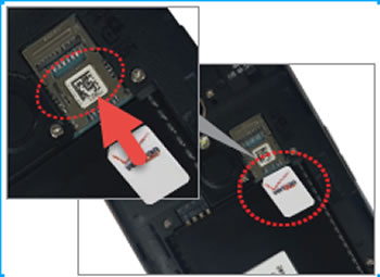 Insertar tarjeta SIM
