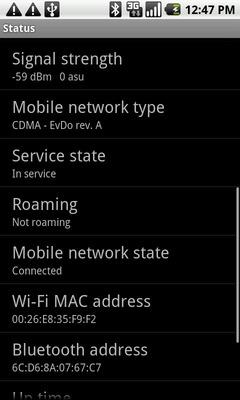 Ubica la dirección MAC de Wi-Fi