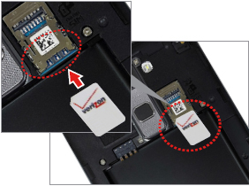Insertar la tarjeta SIM
