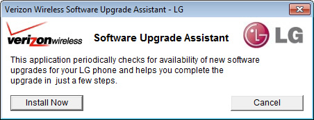 Software Upgrade Assistant with Install Now