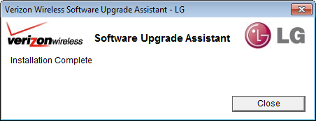 Software Upgrade Assistant with Close