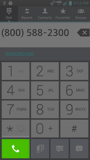 Phone select Phone key again to redial last number
