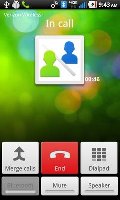 Selecciona Merge calls