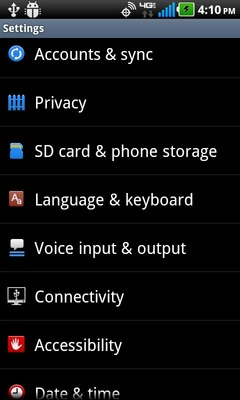 Select SD card & phone storage