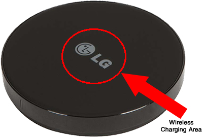 Wireless charging of the battery lg g2 verizon wireless place the device wireless publicscrutiny Gallery