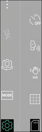 Tap the Storage Icon
