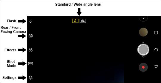 Select a Camera Option