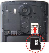 Insertar tarjeta SD