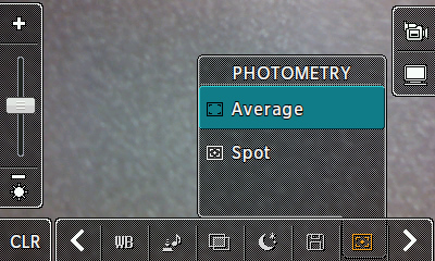 Photometry options