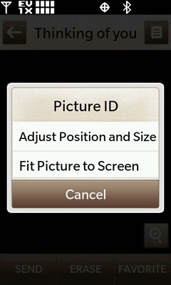 Adjust picture ID size