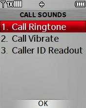 Timbre para llamadas