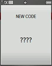 Nuevo código