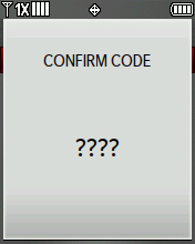 Confirm Code