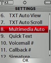 Multimedia Auto Receive