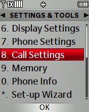 Call Settings